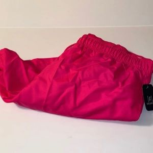 Men's NWT Hot Pink Above The Knee Swim Trunks XXL
